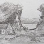 Cottage Zeichnung