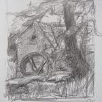 Mühle Zeichnung