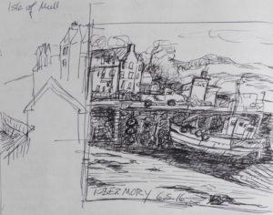 Hafenszene Tobermory, Mull