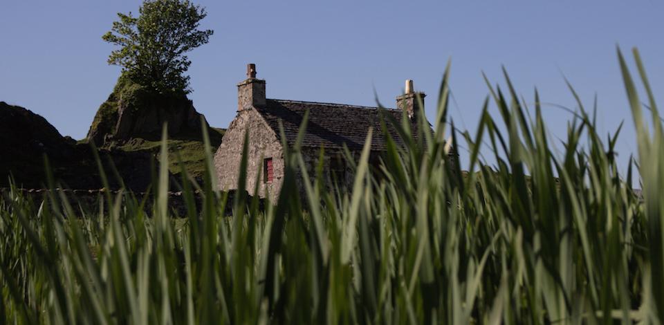 Cottage auf Lismore