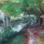 Aquarell Kenneth canal